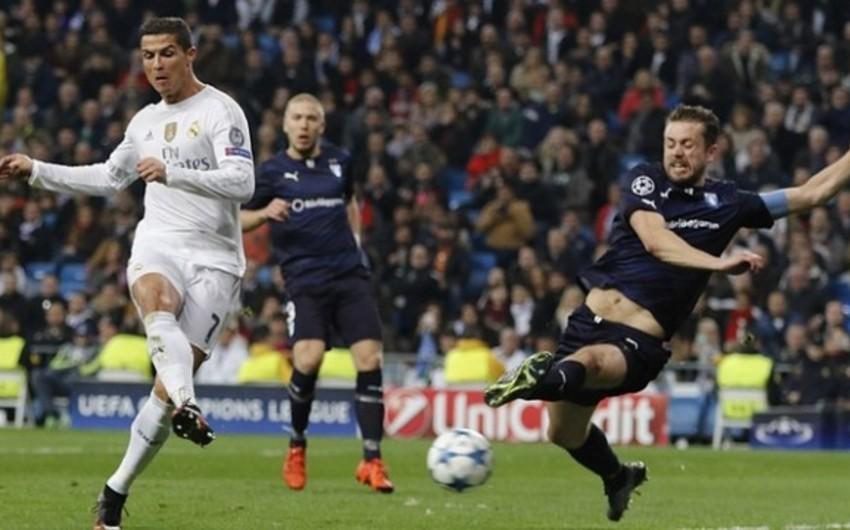 Ronaldo Çempionlar Liqasında yeni rekorda imza atıb - VİDEO