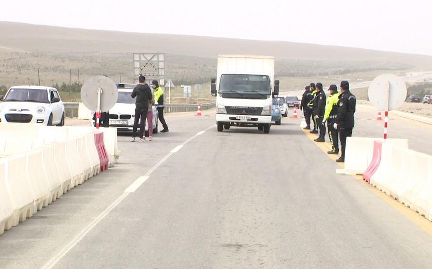 Sumqayıt və Abşeronun ara və köməkçi yollarında postlar təşkil olunub
