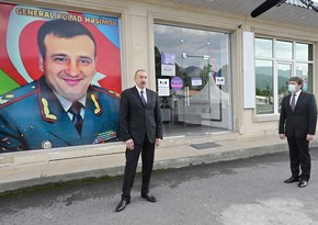 Ilham Aliyev instructs to name a street after martyr General Polad Hashimov