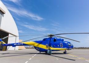 Azərbaycanda Rusiya istehsalı olan daha bir helikopterin əsaslı təmiri başa çatdı