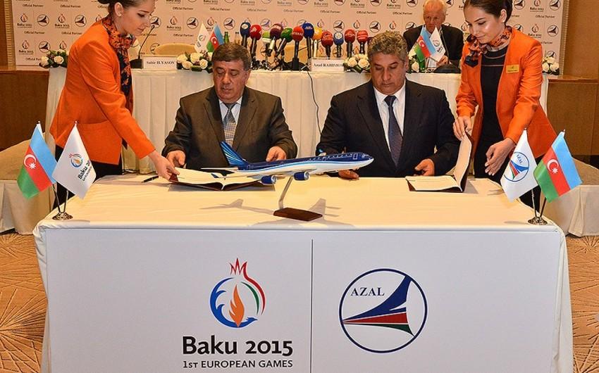 Azərbaycan Hava Yolları Bakı 2015-in 6-cı rəsmi tərəfdaşı elan olunub