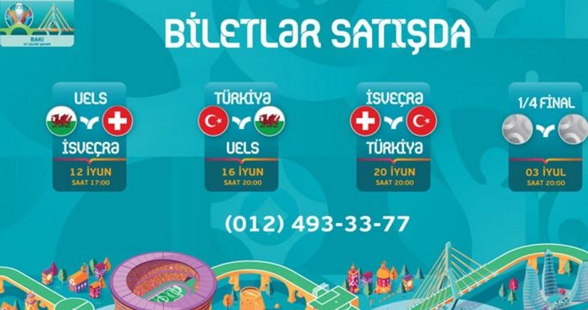 Билеты на матчи ЕВРО-2020 в Баку уже в продаже - ОБНОВЛЕНО