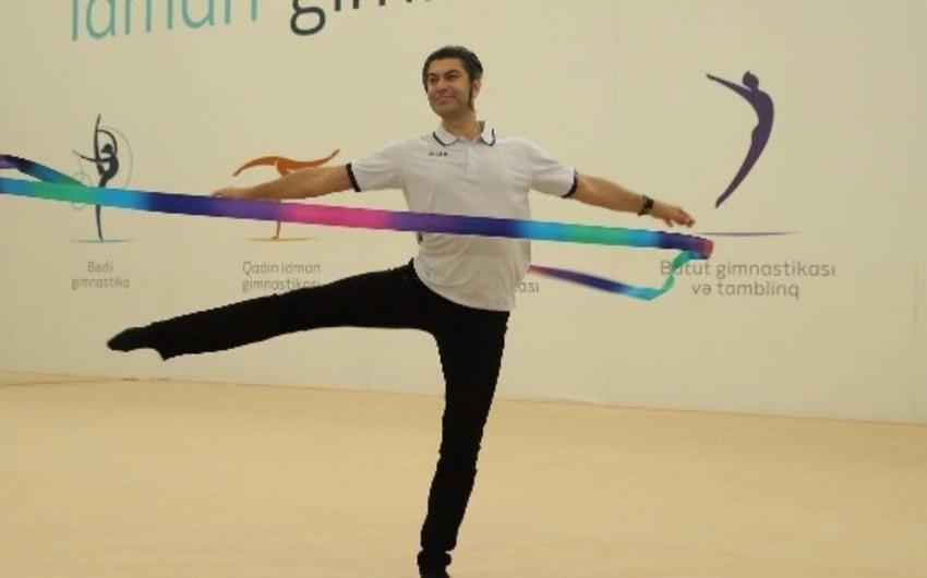 Nikolay Tsiskaridze Milli Gimnastika Arenasında qonaq olub