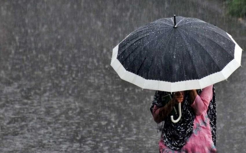 İntensiv yağış yağacaq, dolu düşəcək - XƏBƏRDARLIQ