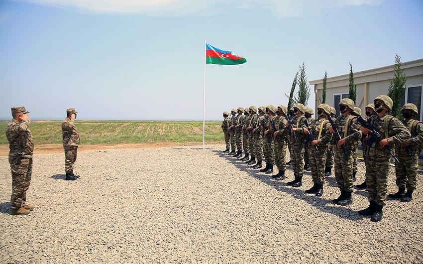 На освобожденных территориях введены в эксплуатацию еще несколько воинских частей