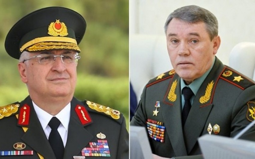 Главы Генштабов Вооруженных сил России и Турции обсудили ситуацию в Сирии
