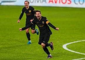 Barselona İspaniya Kubokunun 1/4 finalına çıxıb
