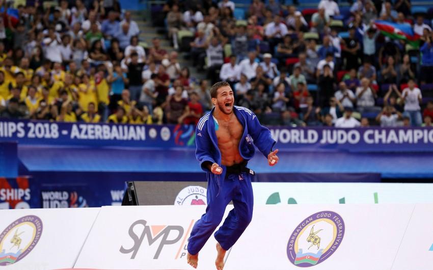 Azərbaycan milli komandası cüdo üzrə dünya çempionatında ilk medalını qazanıb