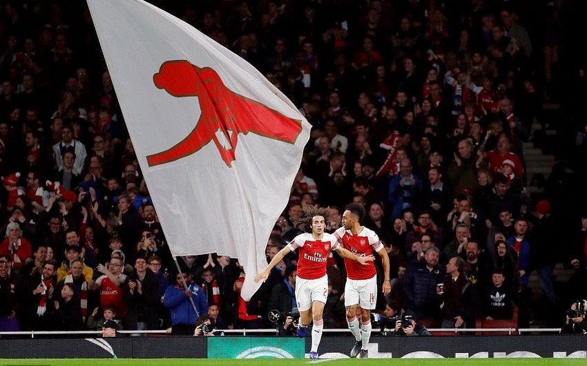 Avropa Liqası: Arsenalın 3 futbolçusu həftənin rəmzi komandasına düşüb
