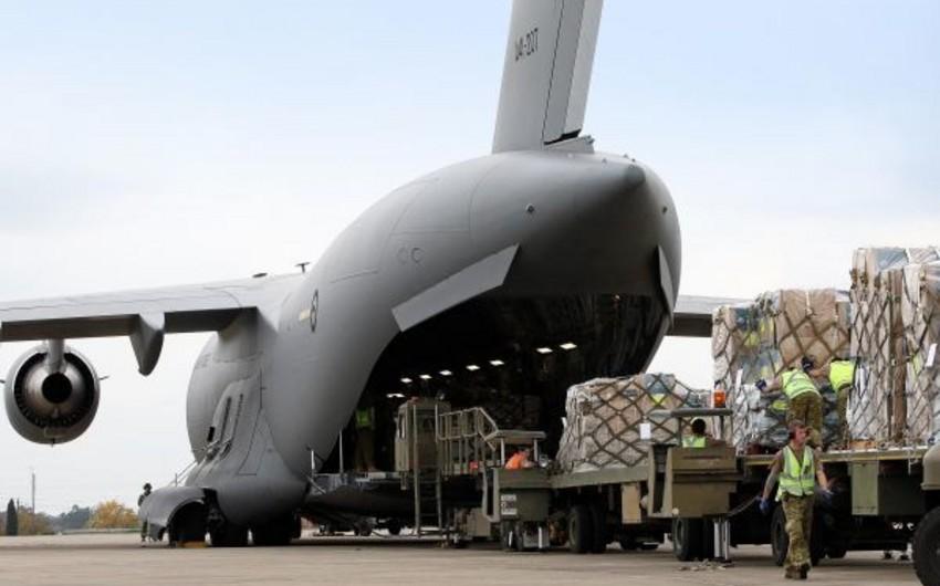 ABŞ aviasiyası Kobani kürdlərini silahla təmin edib