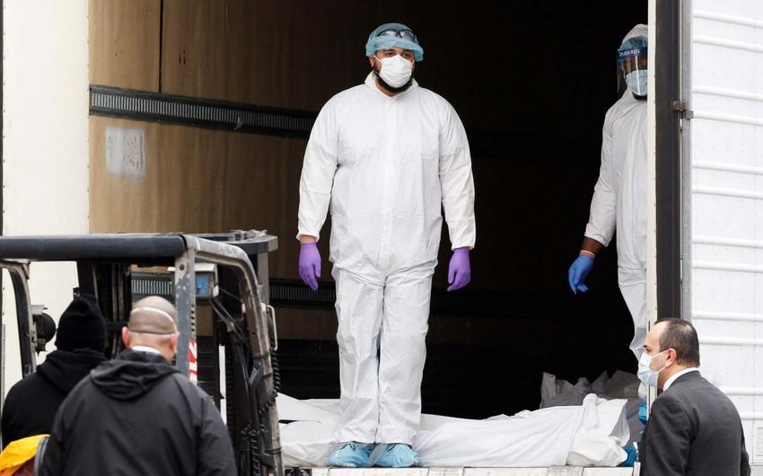 Nyu-Yorkda bir gündə 6,6 minə yaxın insan koronavirusa yoluxdu