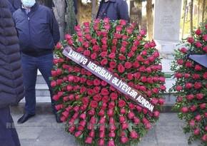 President, First Lady send wreath to People's Artist Janali Akbarov's funeral