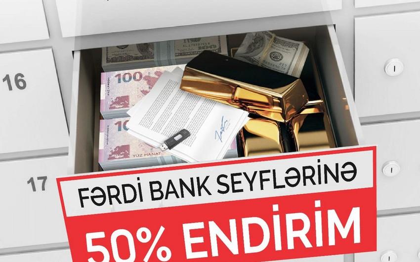 """""""Bank BTB""""nin 50% endirimli """"Fərdi Bank Seyfləri""""ndən yararlanmağa tələsin!"""