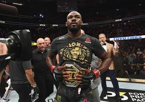 UFC-nin ən yaxşı döyüşçüsü həbs edilib