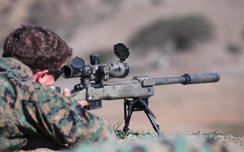 Armenia violates ceasefire using sniper rifles