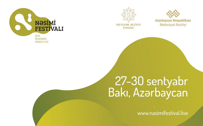 Nəsimi - şeir, sənət və mənəviyyat Festivalı keçiriləcək