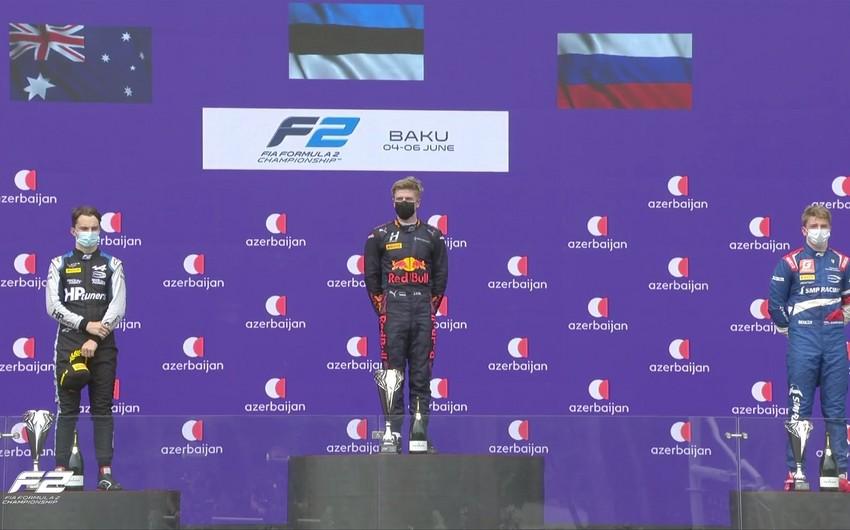 Bakıda Formula 2 yarışlarına yekun vuruldu -