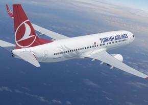 Türk Hava Yolları yeni il üçün iki reysini ləğv edib