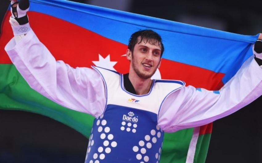 Азербайджанский тхэквондист стал двукратным чемпионом Европы
