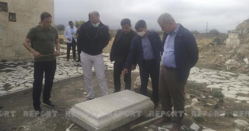 Председатель комиссии ОИС: В Агдаме разрушены памятники культурного и религиозного наследия