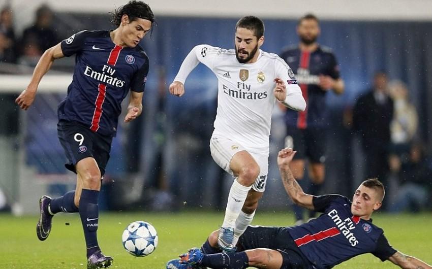 Реал сыграет с Пари Сен-Жермен в матче футбольной Лиги чемпионов