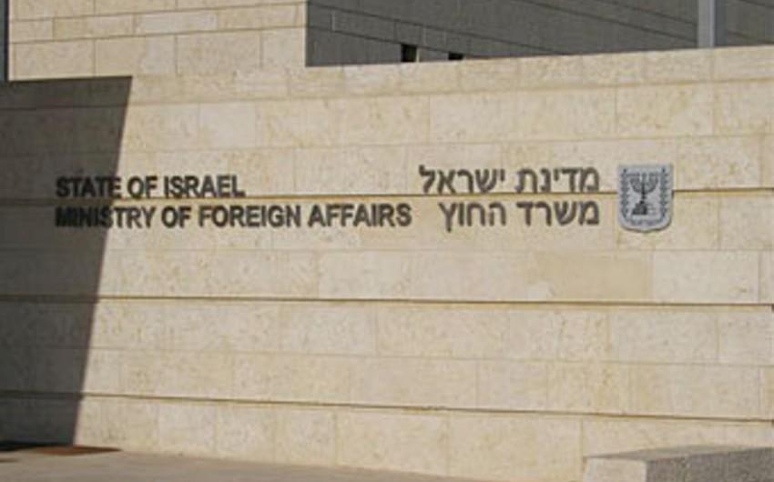 İsrail XİN: Avropa İttifaqı ikili standartlı siyasət yürüdür