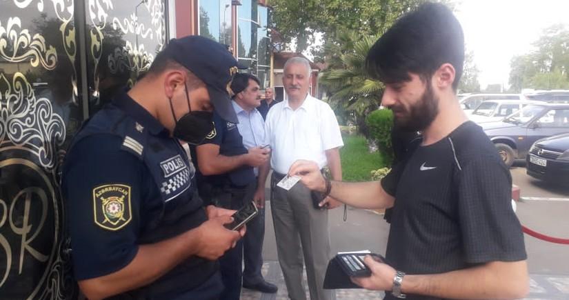 Samuxda 3 toyda karantin qaydaları pozulub, təşkilatçılar cəzalandırılıb - FOTO