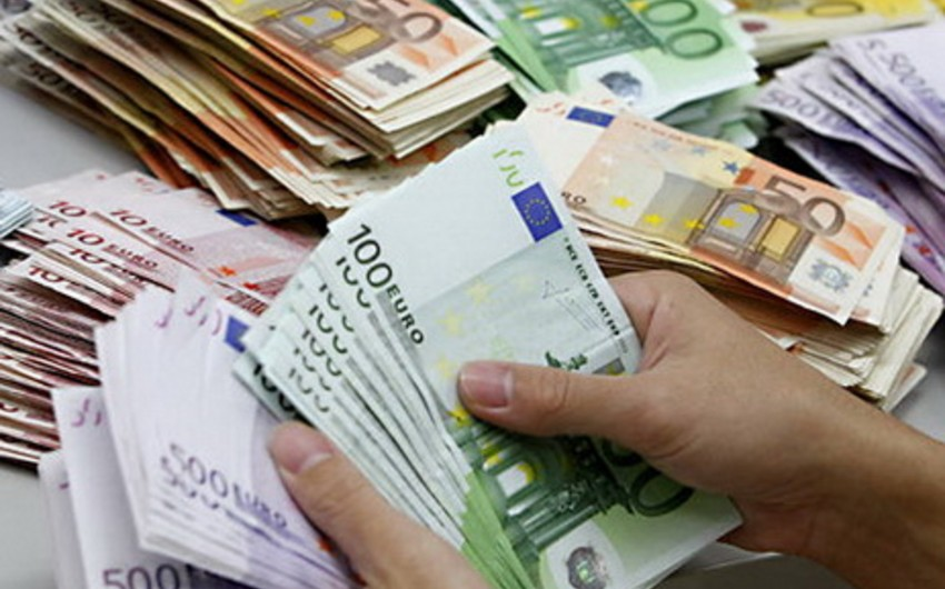 Euro rate to US-dollar reduces