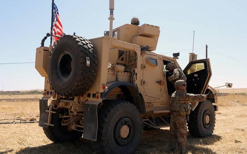 ABŞ 1000 hərbi qulluqçusunu Suriyanın şimalından çıxarır