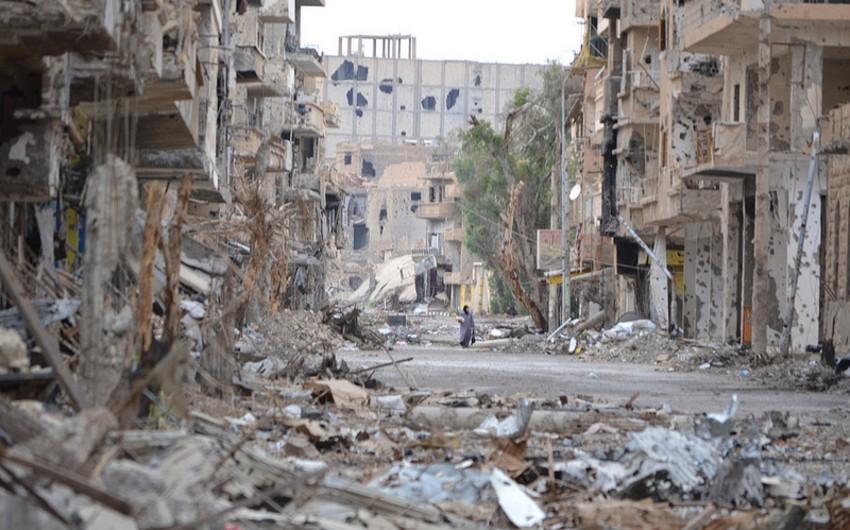 İŞİD Deyr-ez-Zoru atəşə tutub: 3 ölü, 11 yaralı