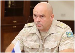 Qarabağdakı Rusiya sülhməramlılarının yeni komandanı İrəvana gedib