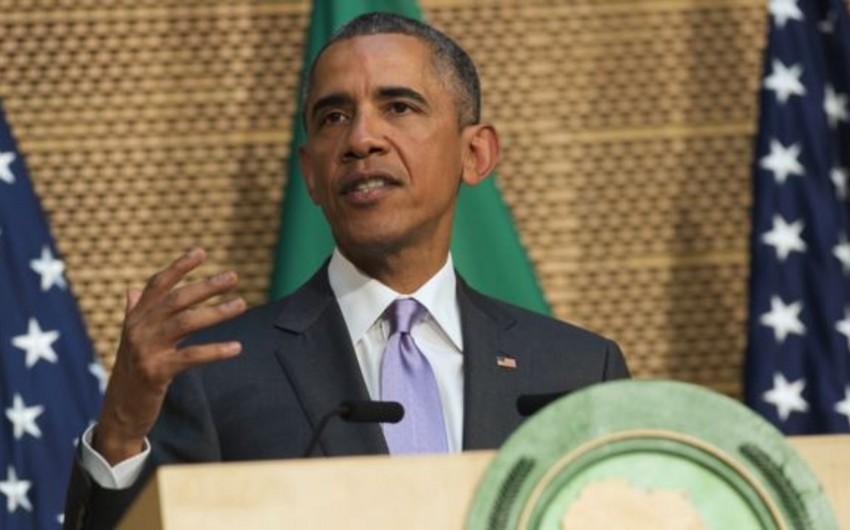 Obama: Afrikanın tərəqqisi davamlı inkişaf və demokratiyadan asılıdır