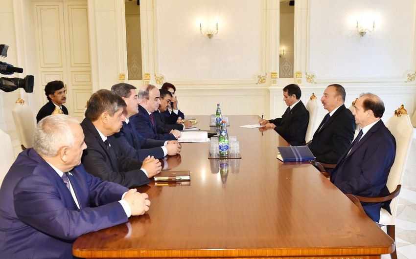 Prezident İlham Əliyev Tacikistan Ali Məclisinin Nümayəndələr Palatası sədrini qəbul edib - ƏLAVƏ OLUNUB