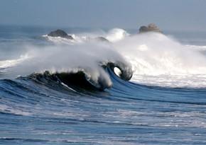 Faktiki hava: Neft Daşlarında dalğanın hündürlüyü 2.6 metrə çatıb