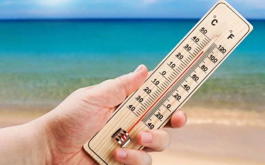 Завтра в регионах Азербайджана столбики термометров поднимутся до 38 градусов