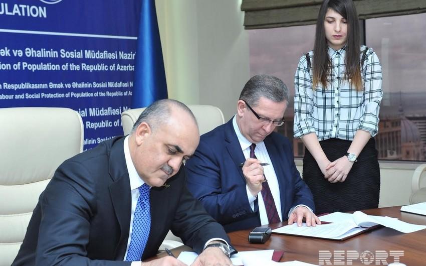 Azərbaycan və  Ukrayna arasında Sosial Siyasət  sahəsində  Əməkdaşlıq  Proqramı imzalanıb