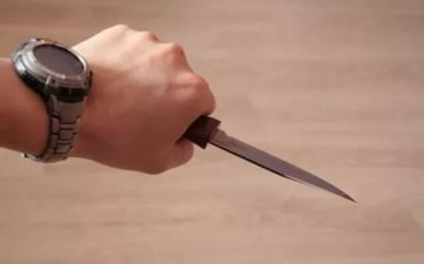 Bakıda 30 yaşlı kişi bıçaqlanıb