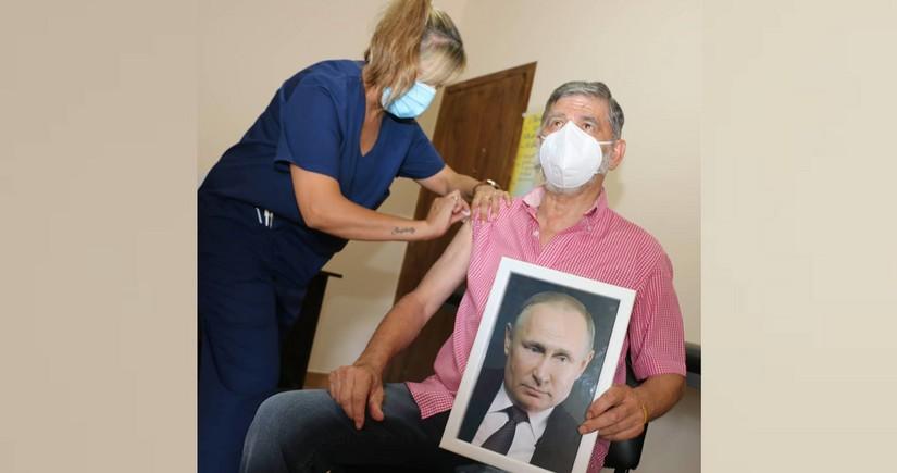 Argentinalı merin Putinin portreti ilə peyvənd olunması səbəbi məlum oldu