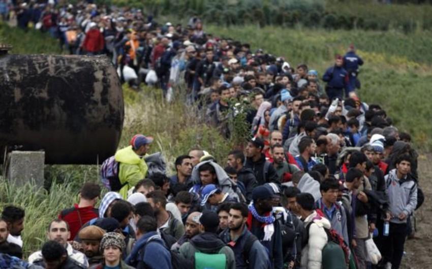 BMT: Avropaya yarım milyondan çox miqrant pənah gətirib