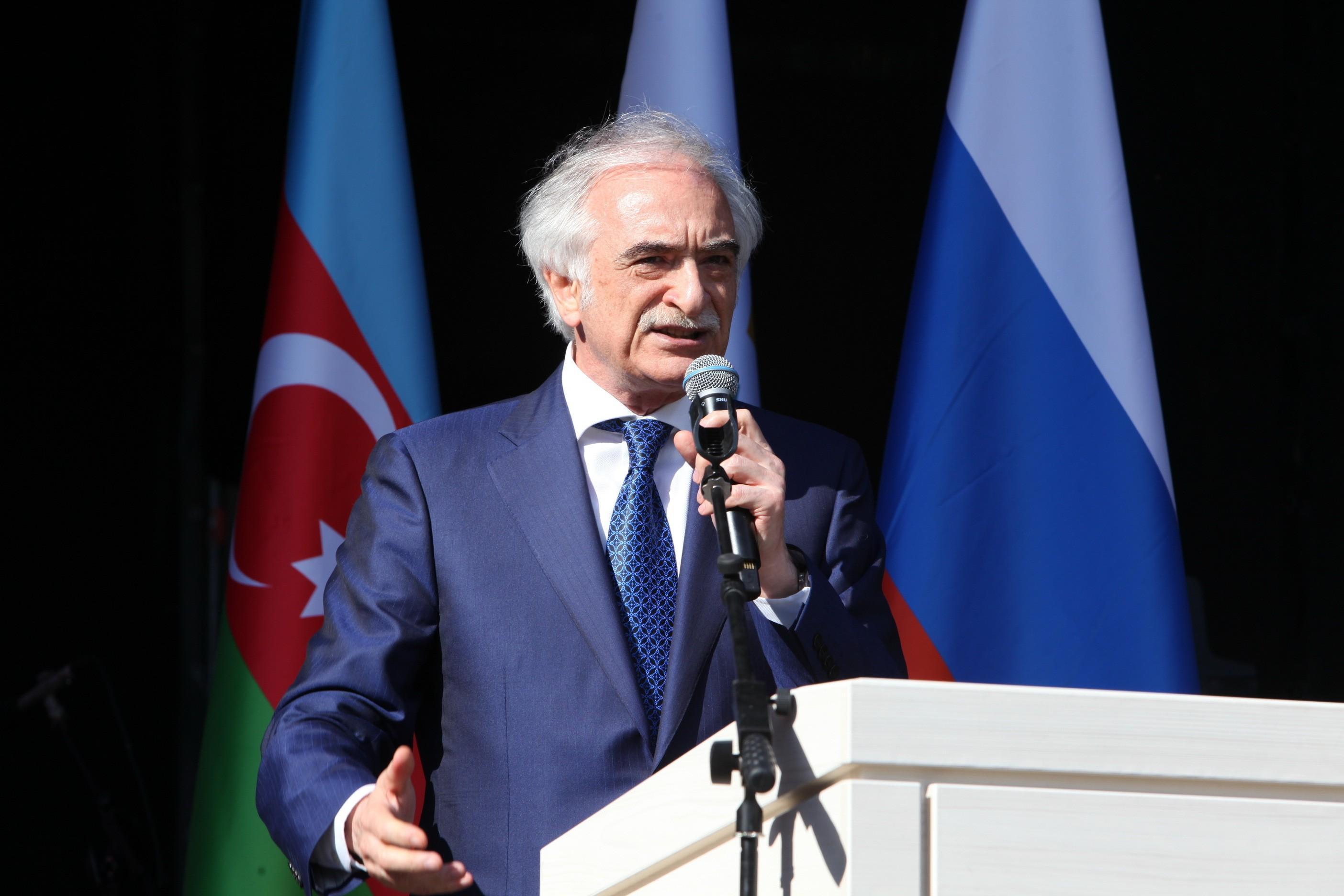 Полад Бюльбюль оглы: Важно, чтобы азербайджанцы России чувствовали себя гражданами этой великой страны
