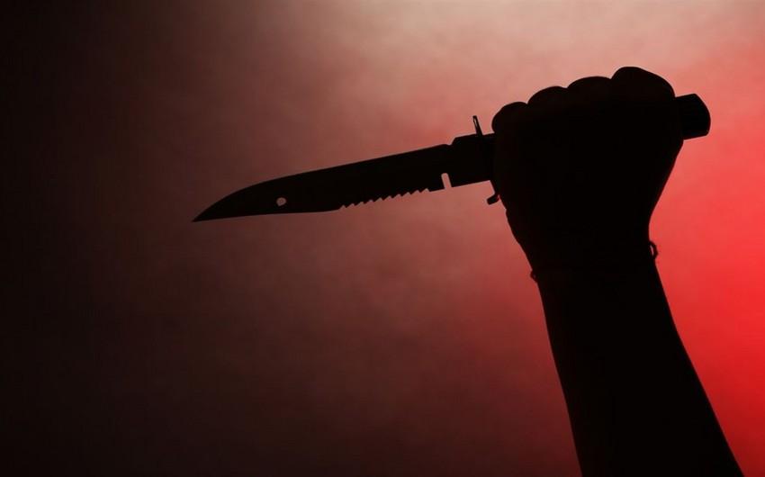 Ağdamda əmioğlular bıçaqlanıb, biri ölüb