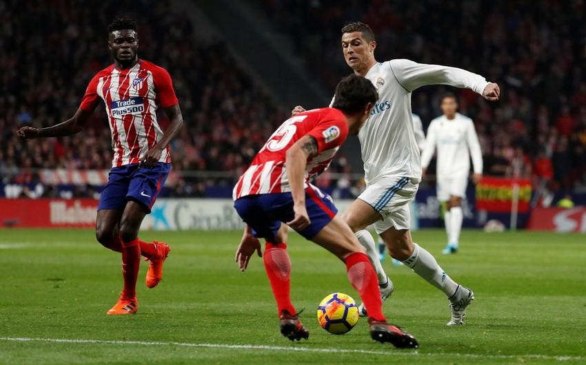 Атлетико и Реал сыграли вничью в мадридском дерби