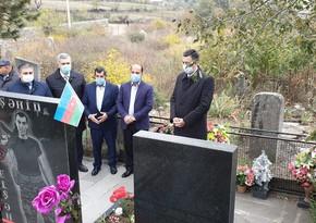 Gürcüstanda Qarabağ şəhidinin ailəsi ziyarət olunub