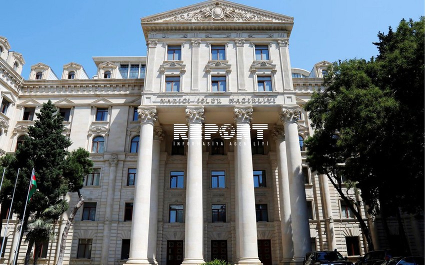 Baku responds to Russian Foreign Minister