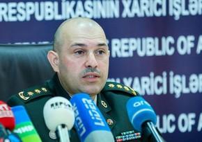 MN: Azərbaycana məxsus təyyarə və helikopterin vurulması məlumatı yalandır
