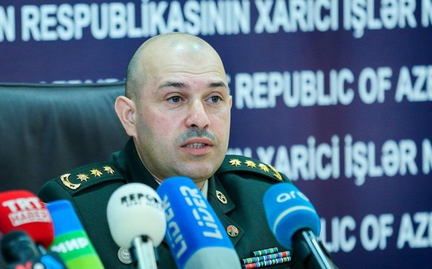 Defense Ministry: Information on shooting down of Azerbaijani plane and helicopter is false