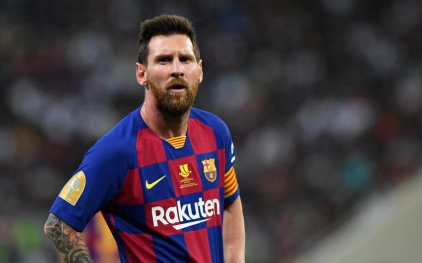 Messinin Barselona ilə müqaviləsinin müddəti başa çatdı