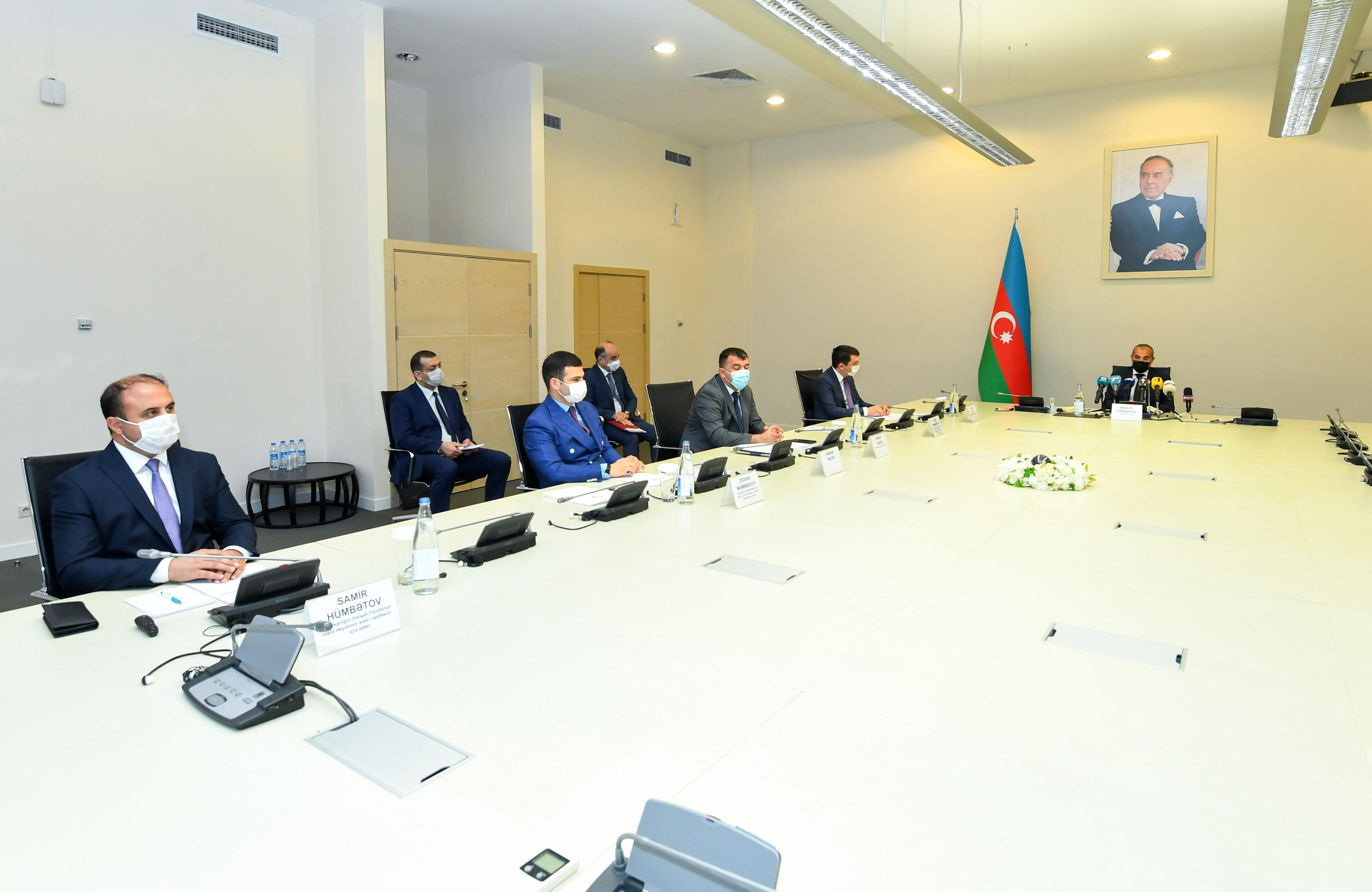 Pandemic, economic restrictions profoundly affect Azerbaijan's economy: Minister