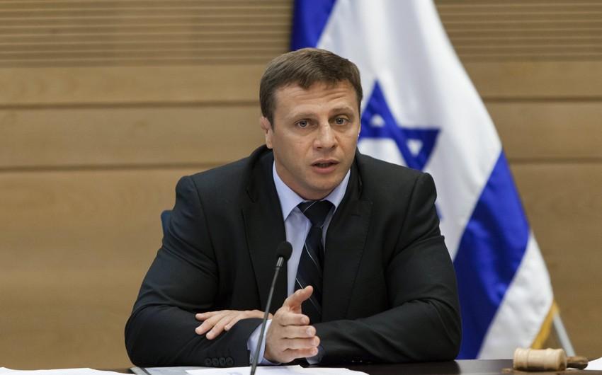 İsrail rəsmisi: Azərbaycanın ölkəmizdə səfirliyini açacağına ümid edirik
