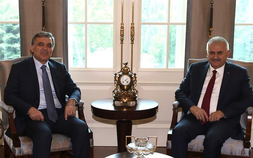 Turkish Prime Minister met with ex-president Abdullah Gül
